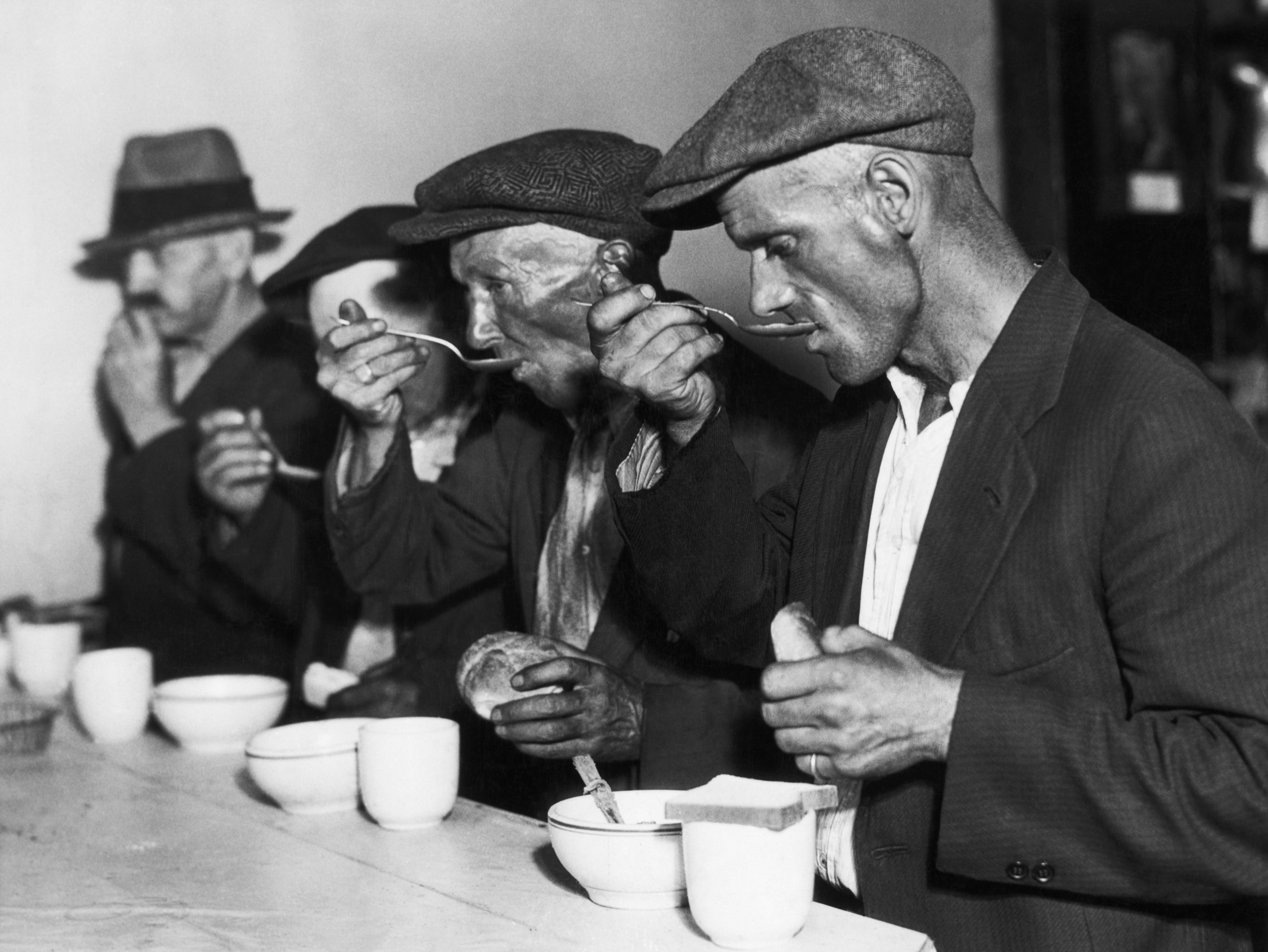 Did Rural Families Have Food To Eat During Great Depression