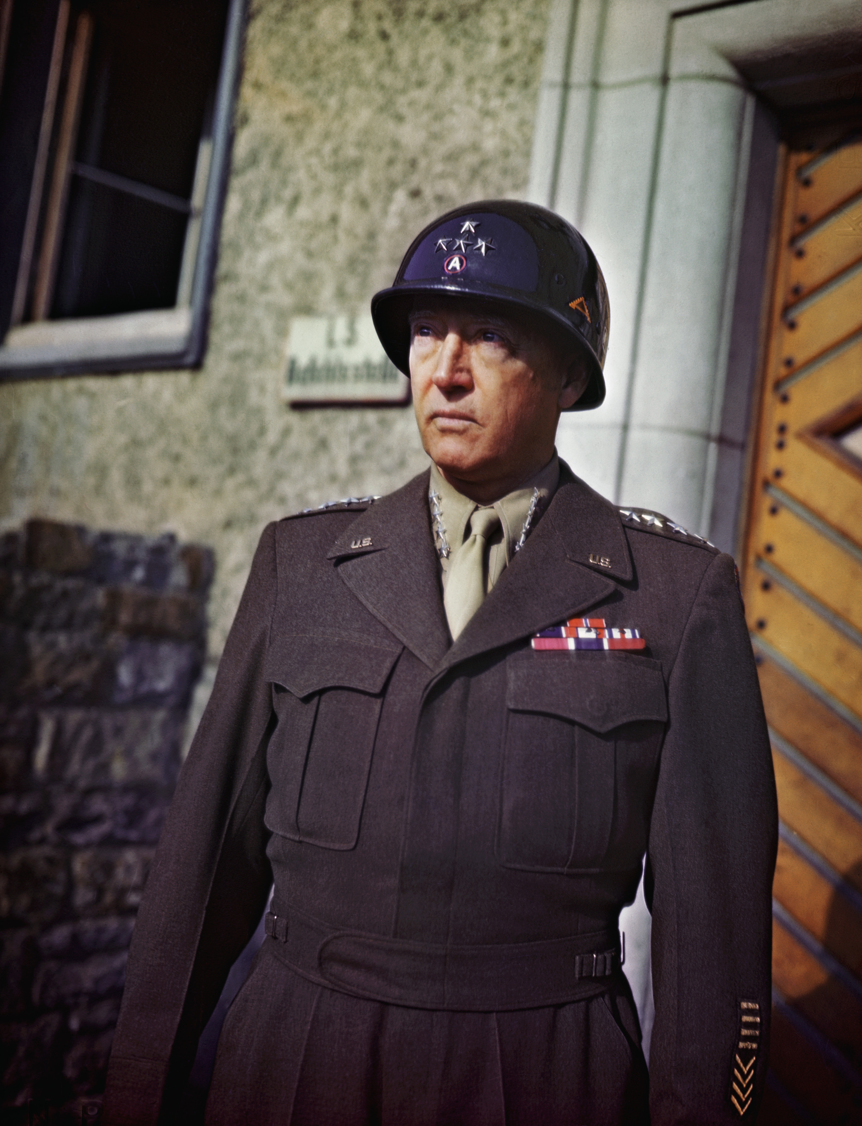 General george patton in uniform 2 allied military leaders general george s patton jr commanding general of us operations north africa publicscrutiny Choice Image