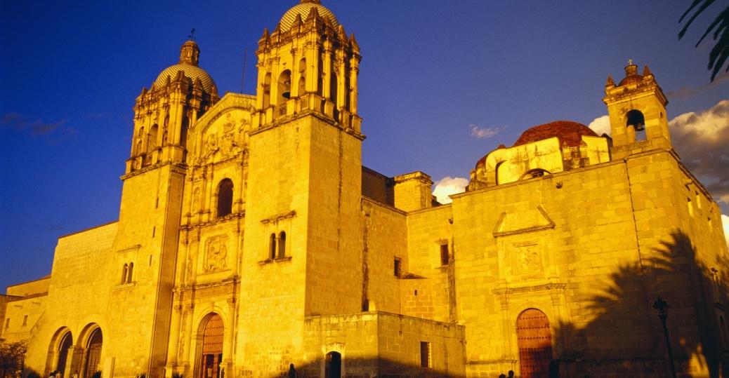 santa domingo de guzman church, oaxaca, mexico