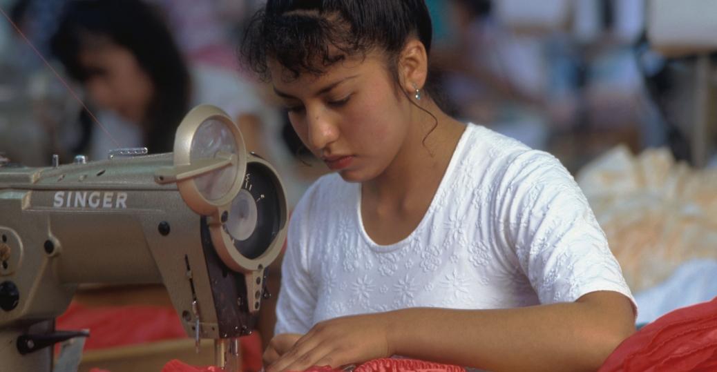 lingerie factory, seamstress, hidalgo, mexico