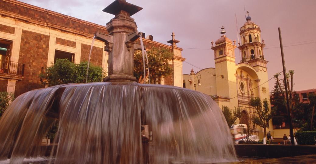 toluca, fountain, mexico state, mexico