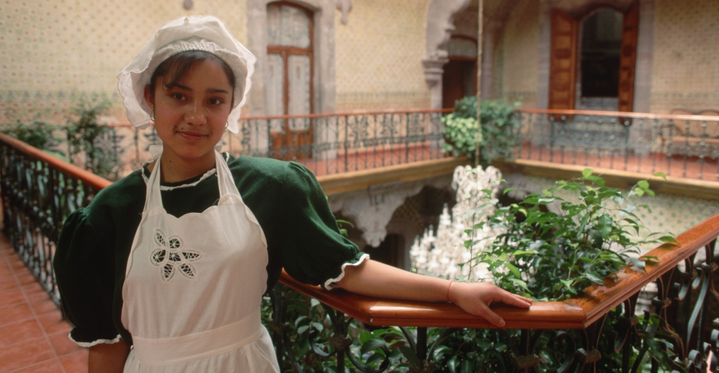 hotel, maid, juana moya moya, la casa de la marquesa hotel, queretaro, mexico