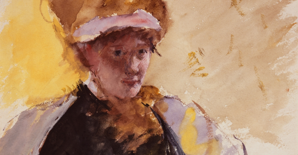 mary cassatt, american impressionist, private lives, women, artist, women in the arts, women's history