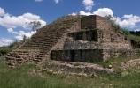 tlaxcala, mexico, ruins at tlaxcala