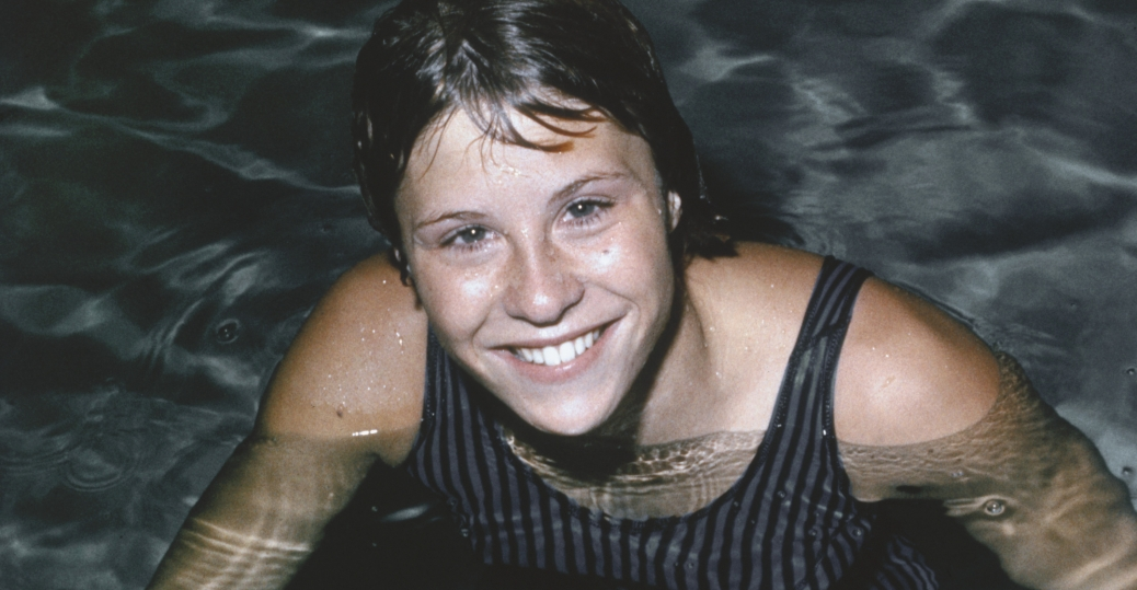 donna de varona, swimming, gold medals, 1964 olympics, first female sportscaster, women in sports, women's history