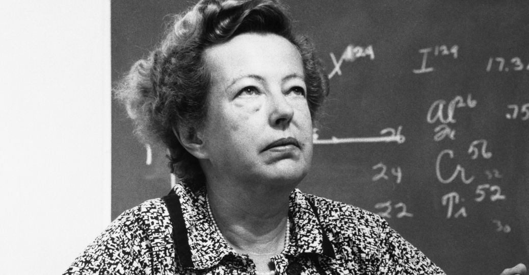 maria mayer, professor hans d. jenson, the university of heidelberg, germany, 1963 nobel prize for physics, nuclear shell structure, women in science, women's history