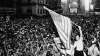 new york, vj day, world war II, end of world war II, japan's surrender, 1945