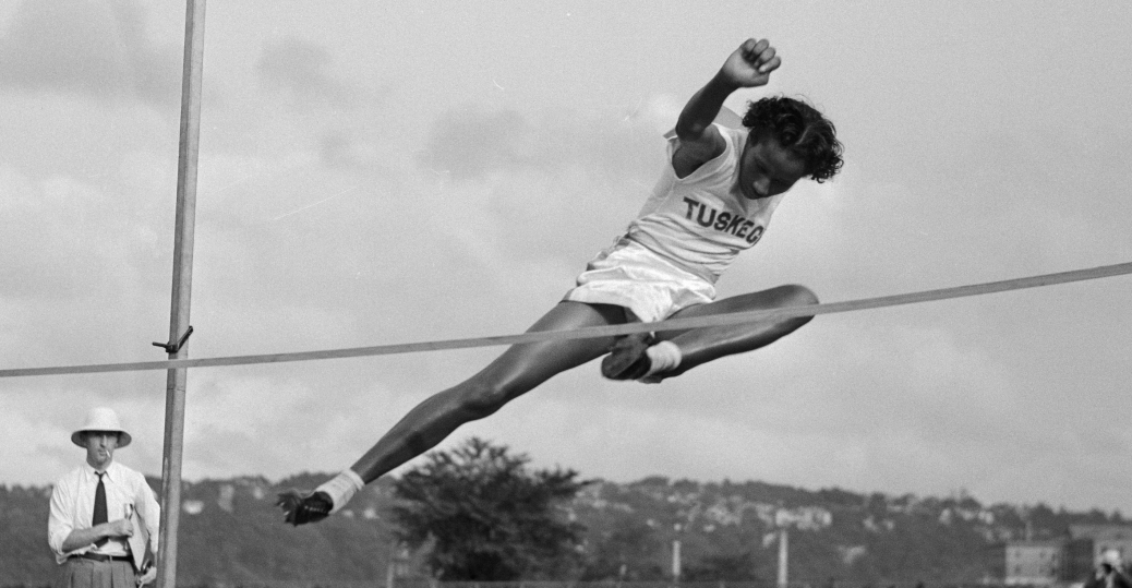 Alice Coachman, olympic gold medal, the high jump, 1948 Olympics, London, black history, black women athletes