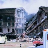 the pentagon, u.s. military headquarters, september 11, 2001, september 11th attacks, damaged pentagon