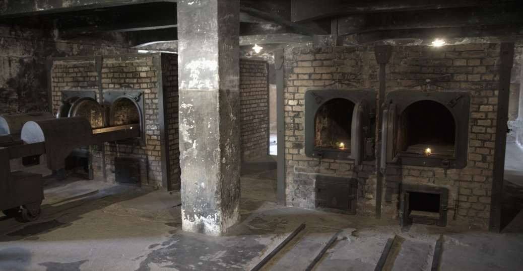 Cremation Oven Room At Auschwitz Holocaust Concentration