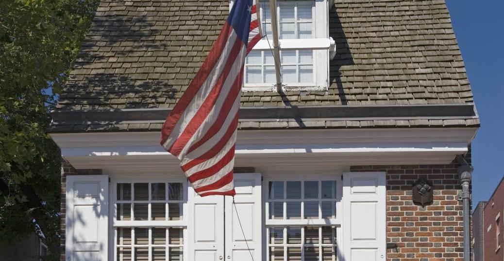 betsy ross, the american flag, philadelphia, pennsylvania, seamstress, the american revolution, betsy ross house