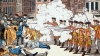 the boston massacre, 1770, british soldiers, local workers, independence, american revolution, paul revere