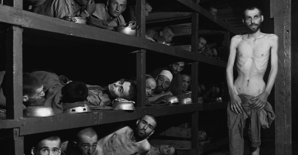 buchenwald, concentration camp, weimar, germany, 1945, world war II, prisoners, survivors, allies, liberation, elie wiesel, night