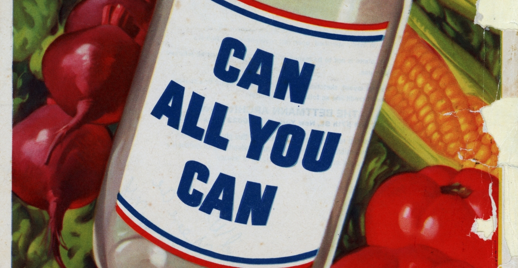 can all you can, world war II, poster, it's a real war job