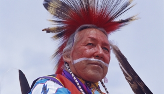 charles l. tailfeather, blackfoot/cree tribe member, red earth festival, native american artists, craftspeople, native americans, native american tribes and cultures