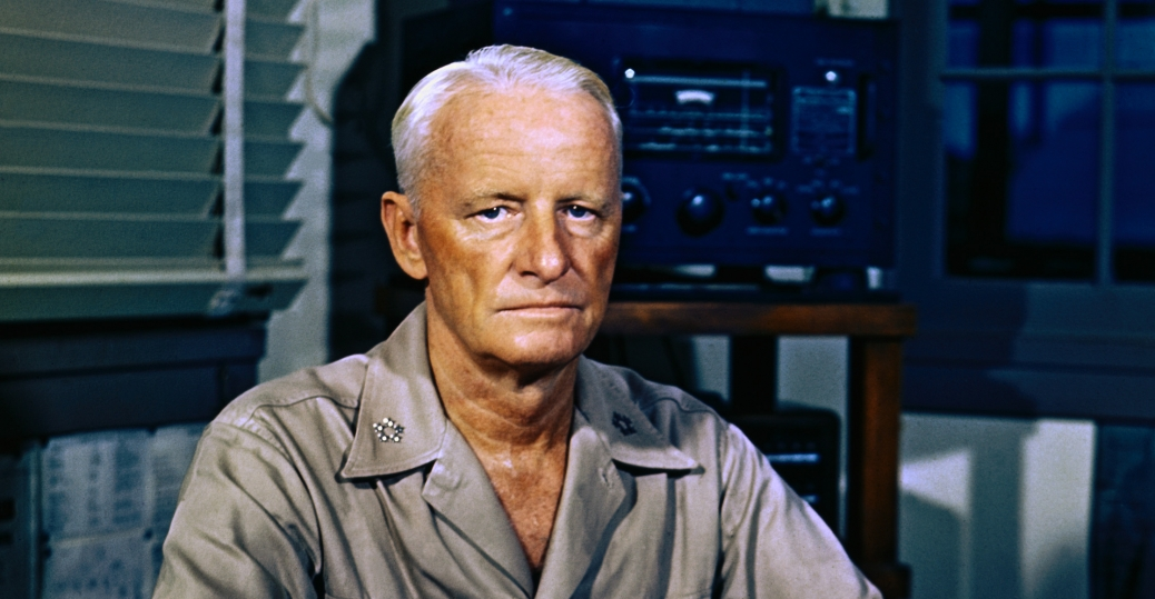 admiral chester william nimitz, american naval officer, commander of the 1st battleship division, world war II, allied military leaders, admiral chester nimitz
