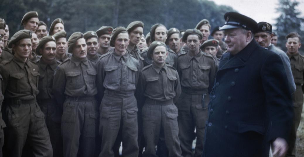 1944, caen, france, prime minister winston churchill, winston churchill, veterans, d-day, invasion of normandy, world war II, political leaders