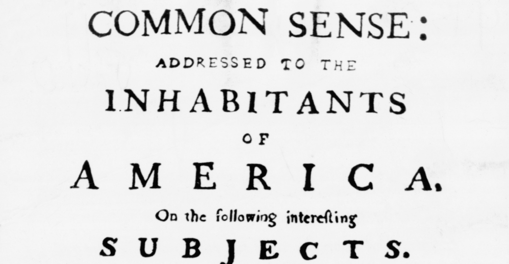 1776, thomas paine, common sense, independence from britain, the american revolution