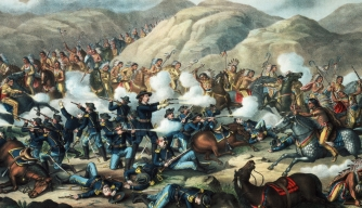 1876, general george armstrong custer, lakota, northern cheyenne indians, sitting bull, battle of little bighorn, montana, native americans, native american warriors, native american battles, custer's last stand