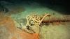 the titanic, the titanic wreckage, deck bench