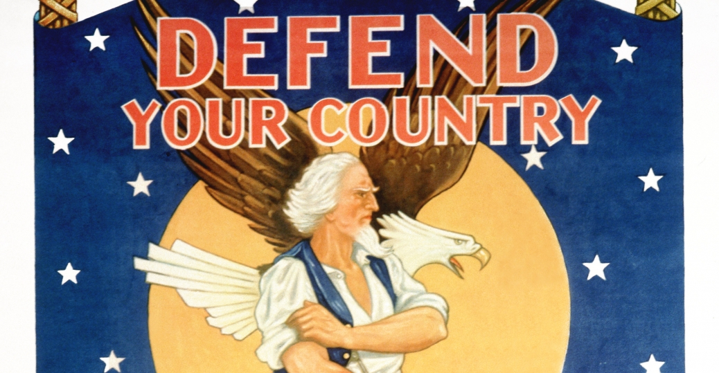 defend your country, united states army, world war II, recruitment poster, 1944, world war II, posters