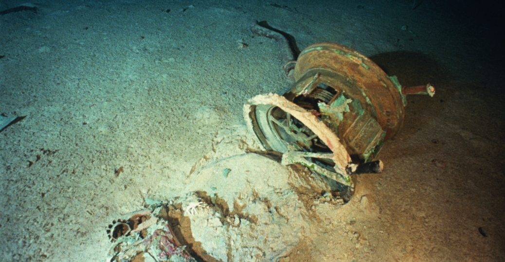starboard-wing-propeller-from-shipwreck - Titanic: Before ...