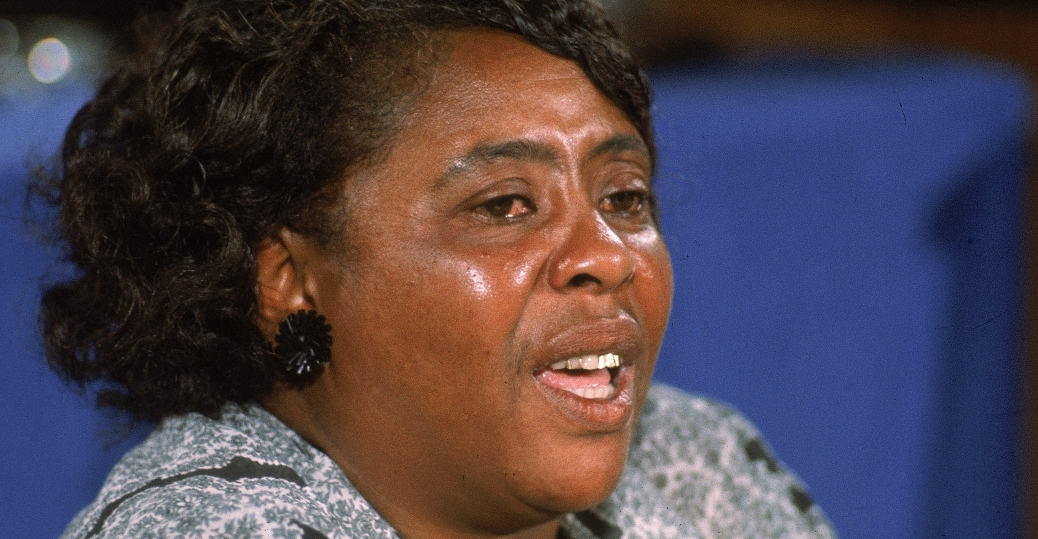 fannie lou hamer, 1964 democratic national convention, atlantic city, new jersey, vice chairperson, mississippi freedom democratic party, black history, black women politicians