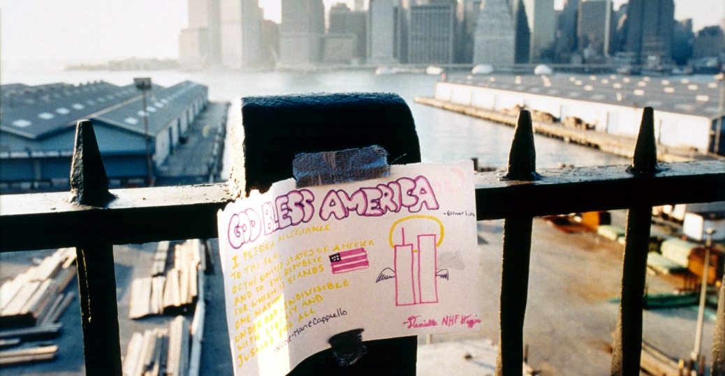 the world trade center, september 11, 2001, september 11th attacks, terrorist attacks, the twin towers, 9/11, god bless america, the brooklyn heights promenade, lower manhattan, memorial, 9/11 memorial