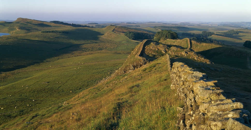 hadrian's wall, britain, barbarian invaders, roman soldiers, AD 122, ancient rome, roman architecture and engineering, roman leaders, roman emperors, hadrian