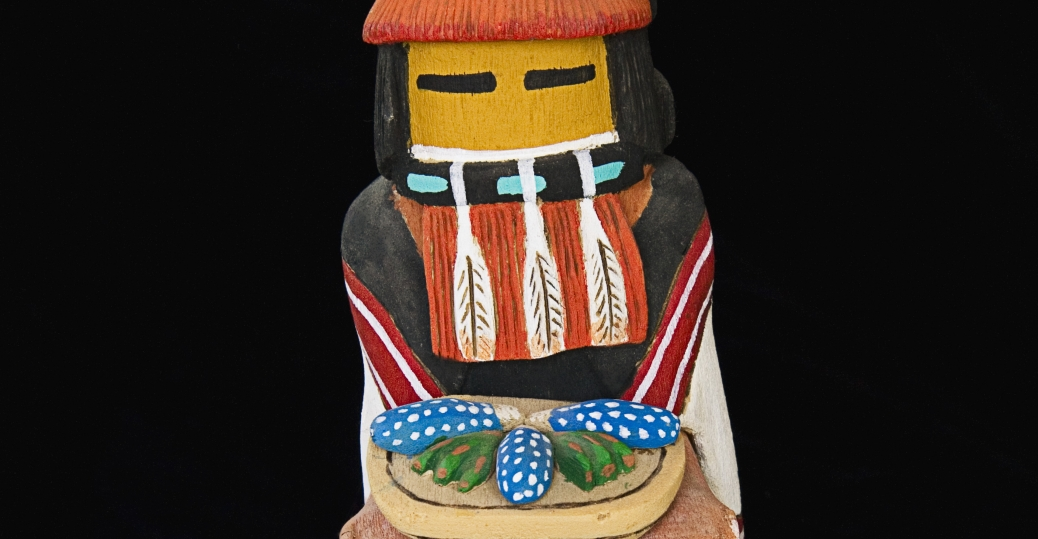 hopi corn maiden kachina, hopi kachina doll, cottonwood, corn maiden dancer, native americans, native american tribes and cultures