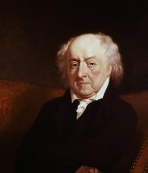 Portrait of Adams by Gilbert Stuart