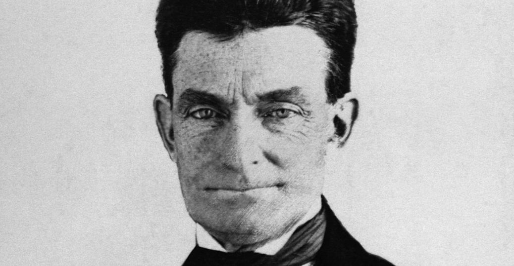 militant abolitionist, john brown, harper's ferry, west Virginia, 1859, black history, the battle over slavery