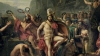 king leonidas, spartan soldiers, thermopylae, persian invaders, ancient greece, sparta, leonidas at thermopylae