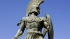 king leonidas, spartan soldiers, thermopylae, persian invaders, xerxes, ancient greece, sparta, leonidas, statue of leonidas