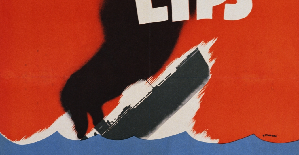 loose lips might sink ships, world war II, poster