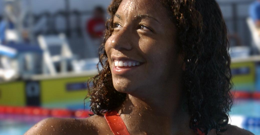maritza correia, us olympic swim team, black history, black women athletes