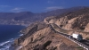pacific coastline, mexico, highway, baja california