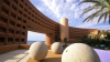 westin regina resort, courtyard, los cabos, baja california sur, mexico