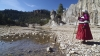 tarahumara, cuzarare waterfall, chihuahua, mexico