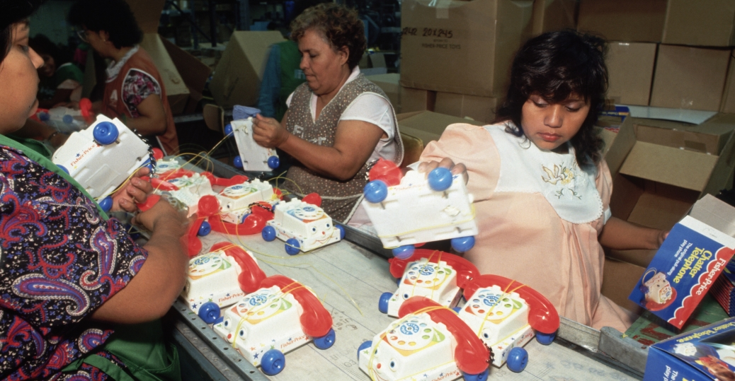 fisher price, toy factory, mexican border, coahuila, mexico