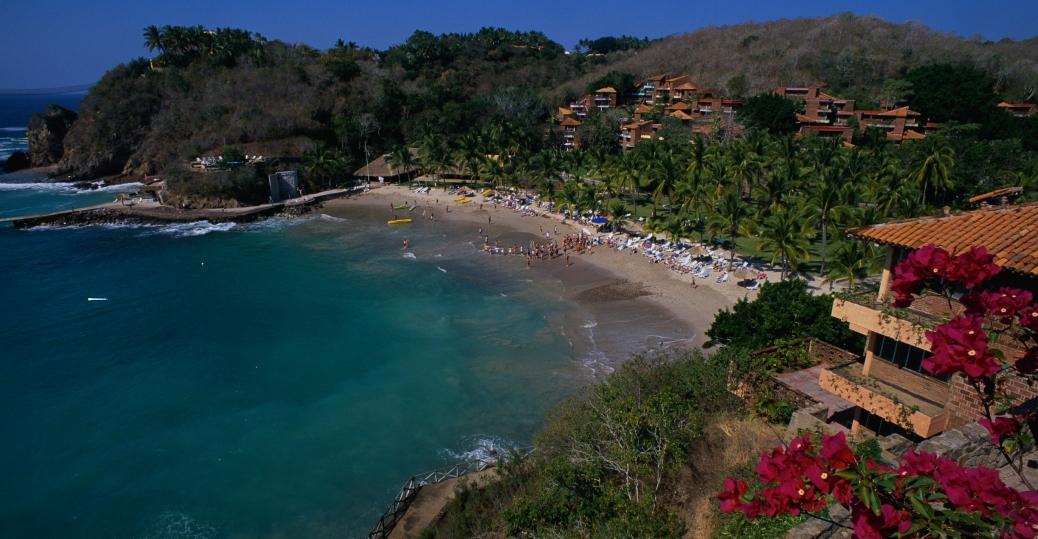 beach, manzanilla, colima, mexico