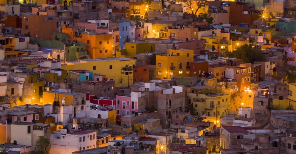 guanajuato, mexico, houses