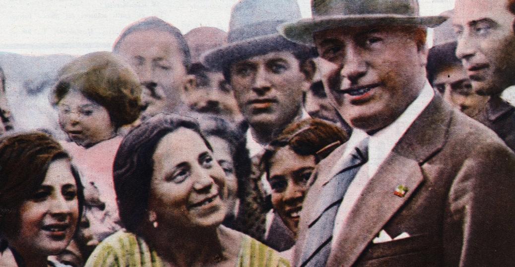 il mattino illustrato, italian dictator, benito mussolini, 1932, world war II, axis military leaders