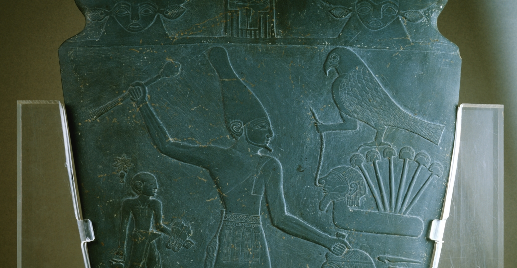 the palette of narmer, religious relief sculptures, ancient egypt, temples, 3000 BCE