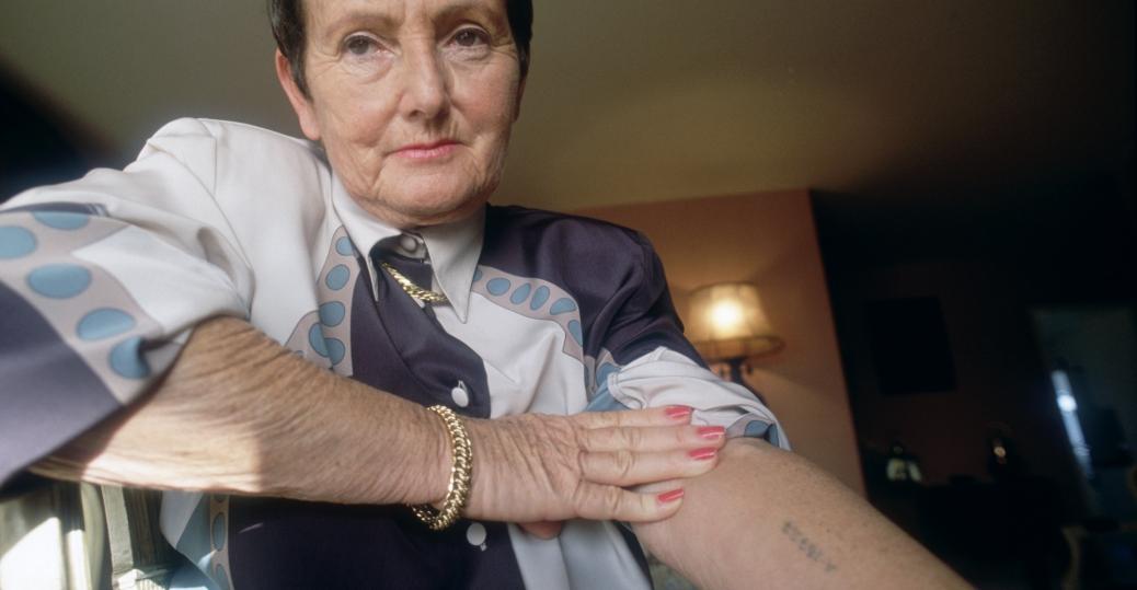 auschwitz, auschwitz-birkenau, nazi, the holocaust, concentration camps, extermination camp, world war II, denise holstein, identification tattoo
