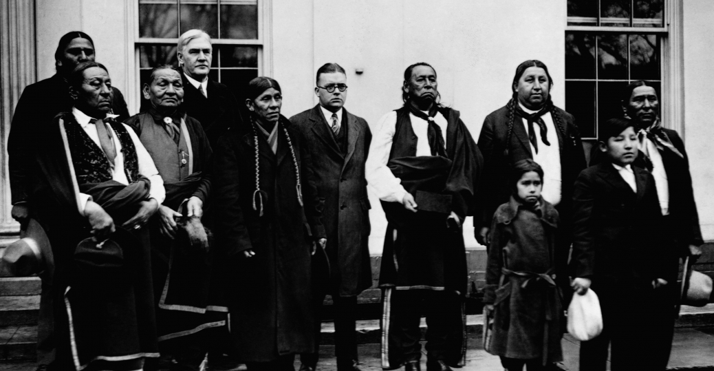 1926, osage tribe, the white house, president calvin coolidge, native americans, native american legislation