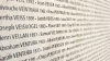 wall of names, shoah memorial, paris, nazi, concentration camps, the holocaust, world war II, holocaust victims, 1942, 1944, wall of names