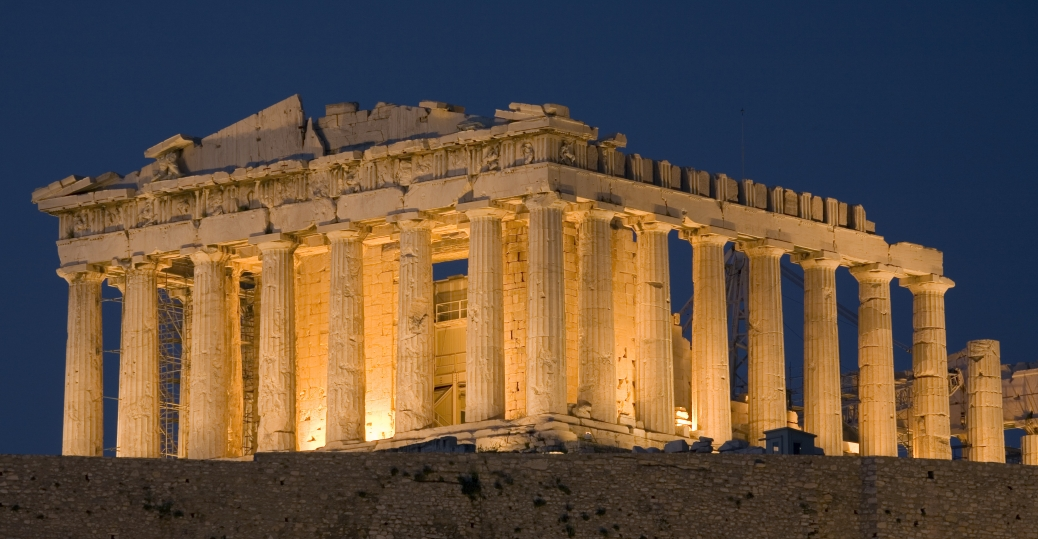 5th Century The Parthenon Acropolis Greek Architecture Ancient Greece Athena