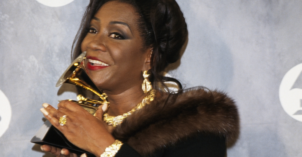 patti labelle, best female r&b vocal performance, grammy awards, 1992, black history, black women musicians