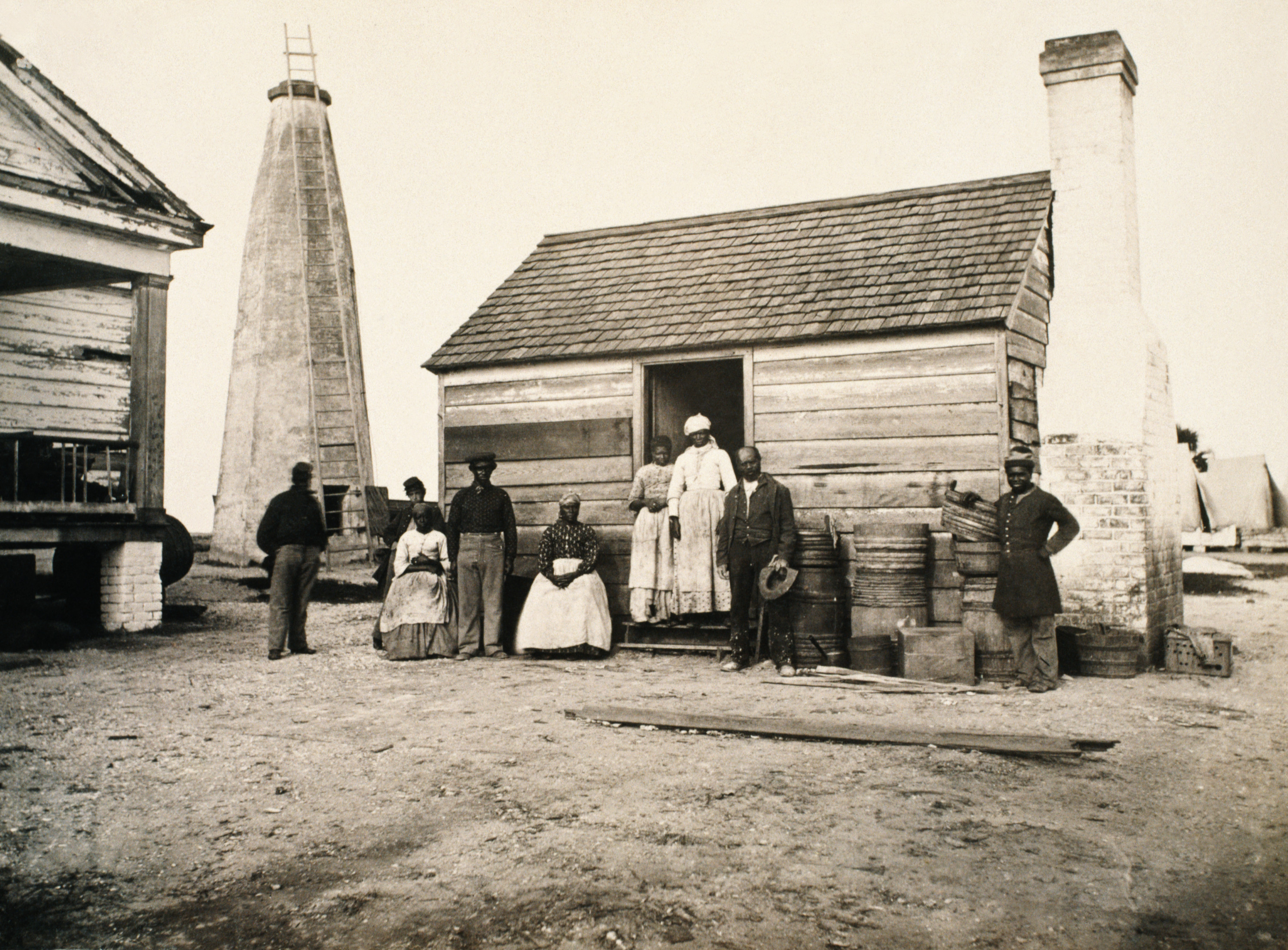 cotton-field - Slave Life Pictures - Slavery in America ...